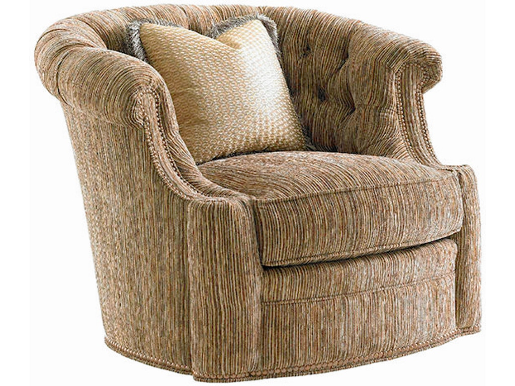 Lexington Living Room Feroni Swivel Chair 7718 11sw Russell 39 S Fine Furniture San Jose Ca
