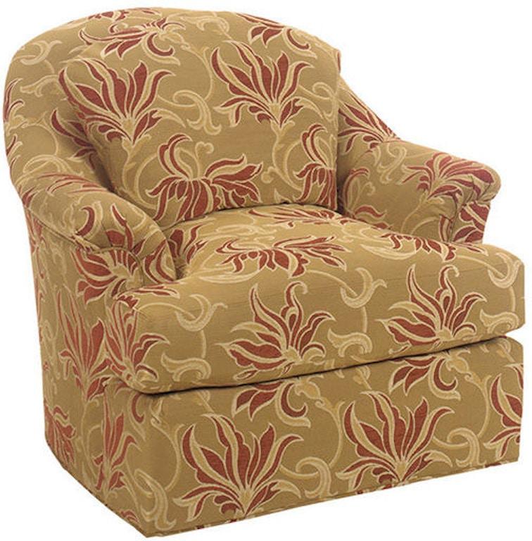 lexington living room angelica swivel chair 777011sw