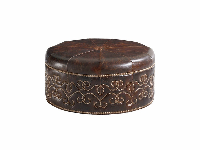 Lexington Giardini Leather Ottoman 7896-44-01