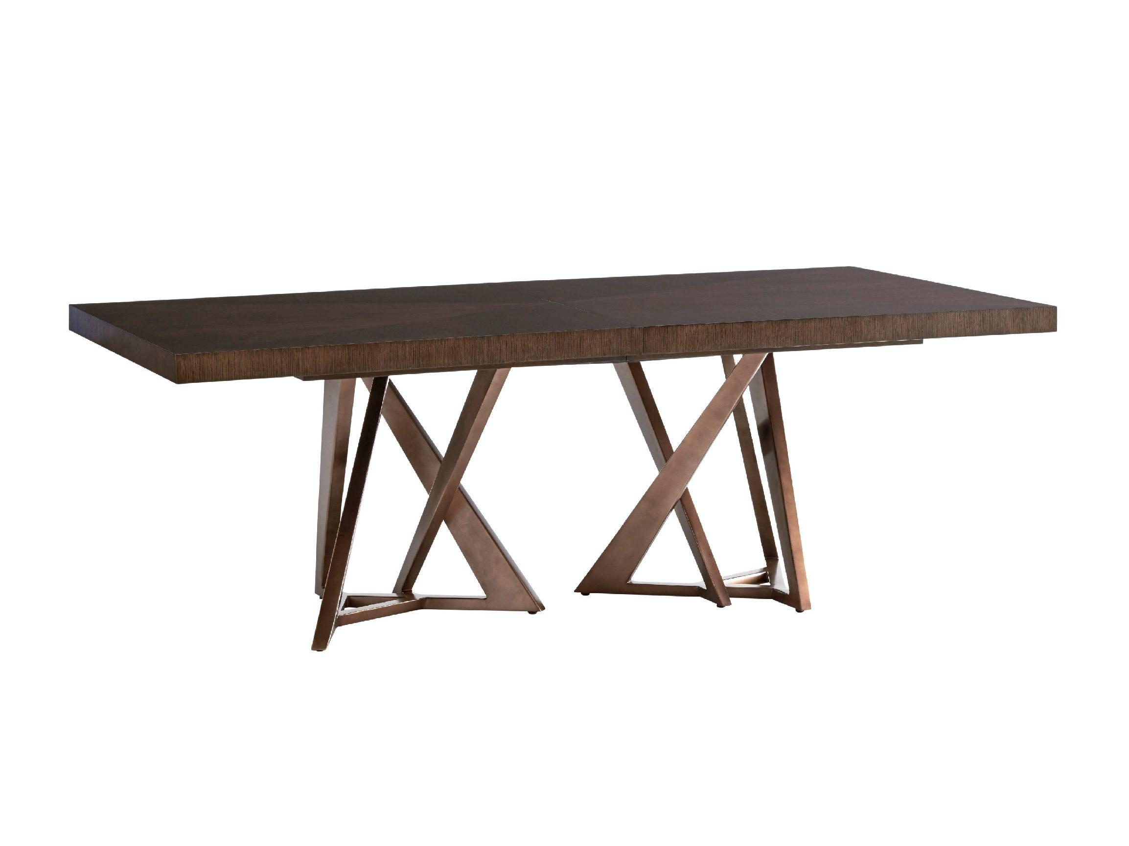 rectangular pedestal dining table Loggia Rectangular Double Pedestal Dining Table 790 876C rectangular pedestal dining table