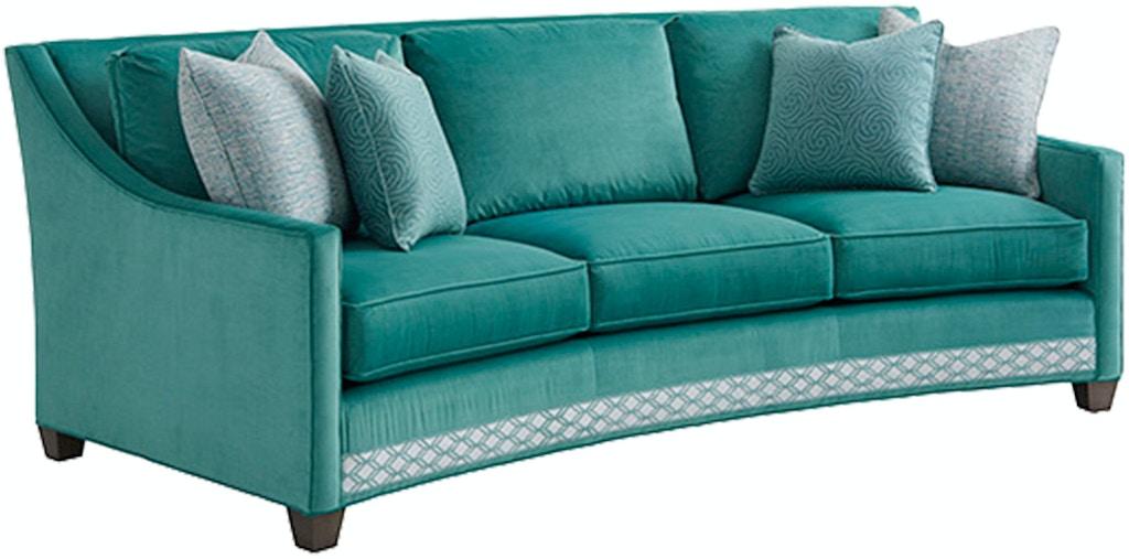 Lexington Living Room Valenza Curved Sofa 7931 33