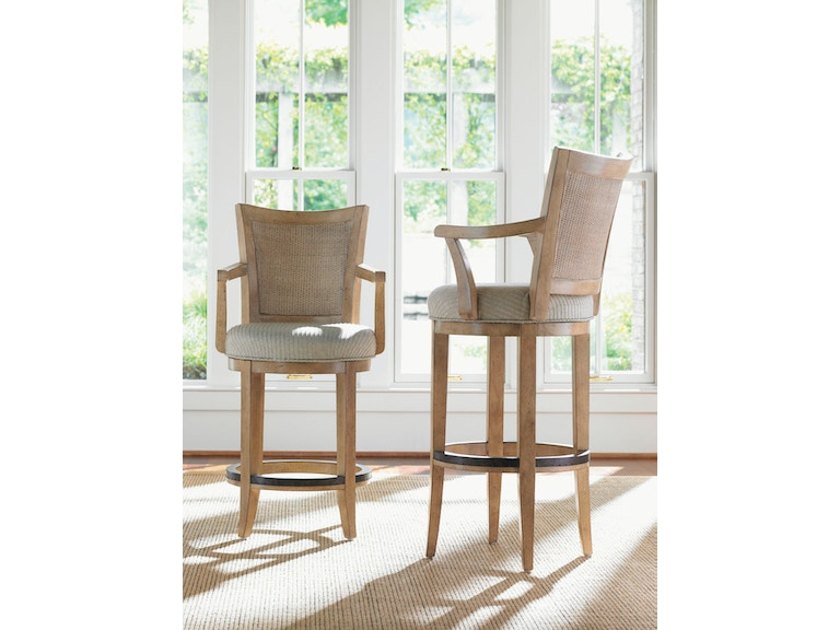 Lexington Carmel Swivel Counter Stool - Ships Assembled 830-815-01