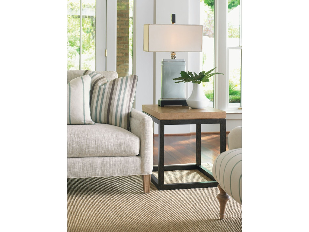 Living Room Dayton Ohio : Lexington Living Room Seal Beach Lamp Table 830-953 ...
