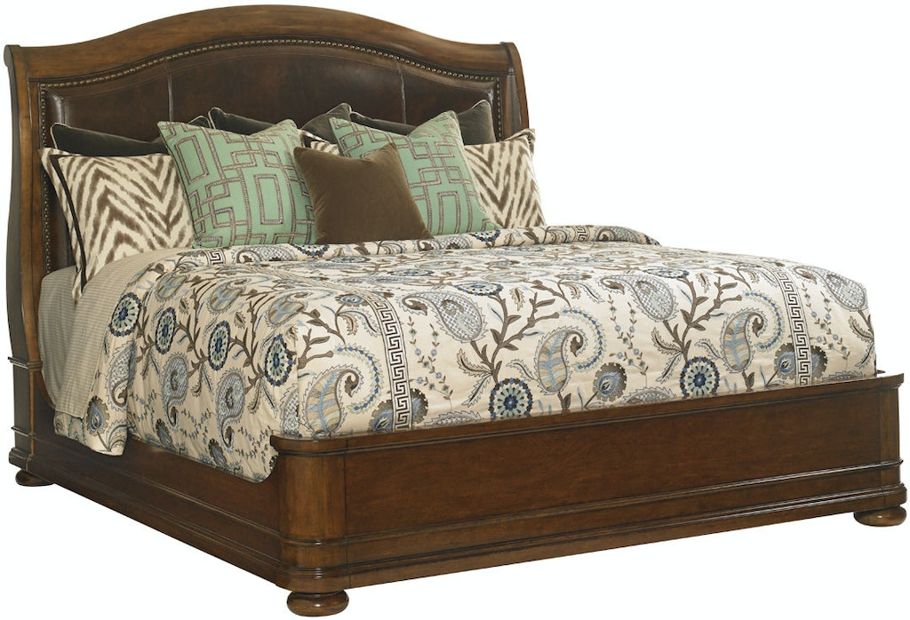 Lexington 945 189c Bedroom Chandler Mills Sleigh Bed 5 0 Queen