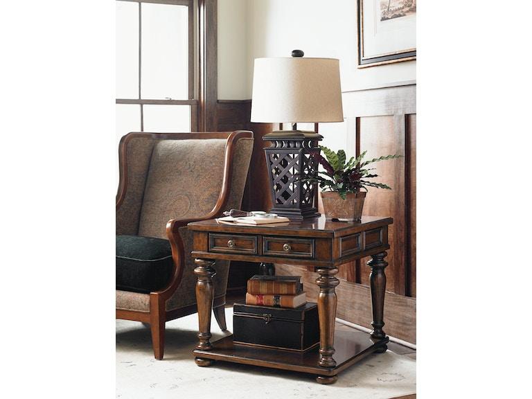 Lexington Living Room Fairfield Lamp Table 945 955 Paul Schatz Furniture Tigard Eugene Or