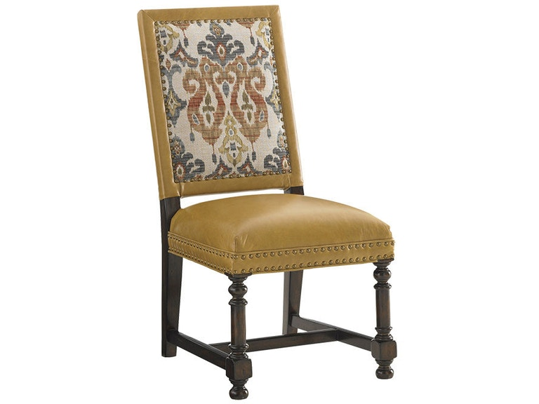 Lexington Jacqueline Leather Hostess Dining Chair Ll1210 12 From Walter E Smithe Furniture