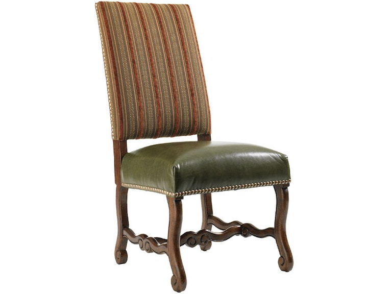 Lexington Furniture Ll1612 12 Living Room Camden Leather Side Chair