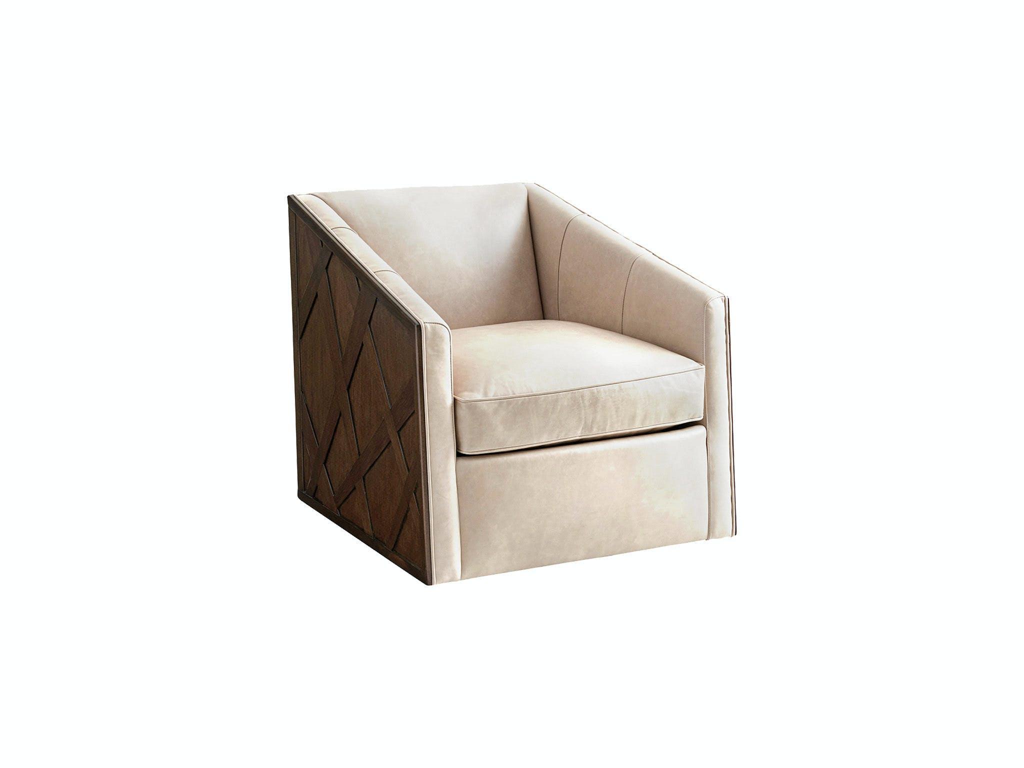 Lexington Living Room Sullivan Leather Swivel Chair Ll1922