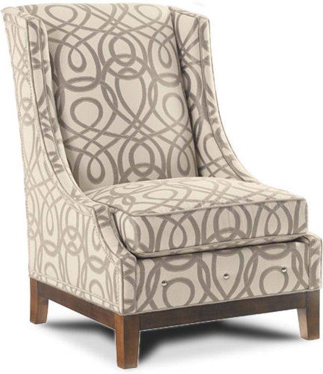 Lexington living room ava leather wing chair ll7154 11 stowers furniture san antonio tx for Living room sets san antonio tx