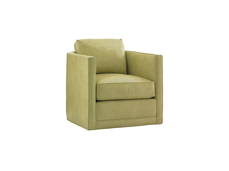 Lexington Dorado Beach Leather Swivel Chair LL7273-11SW