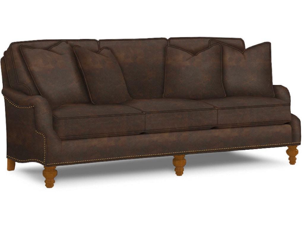 Lexington Living Room Amelia Leather Sofa Ll7275 33 Blockers Furniture Ocala Fl