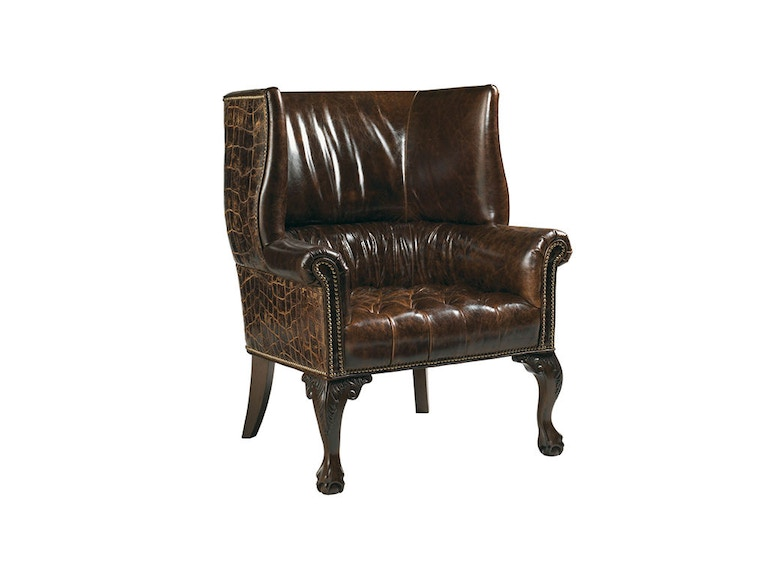Lexington Cardiff Leather Chair LL7531-11AA