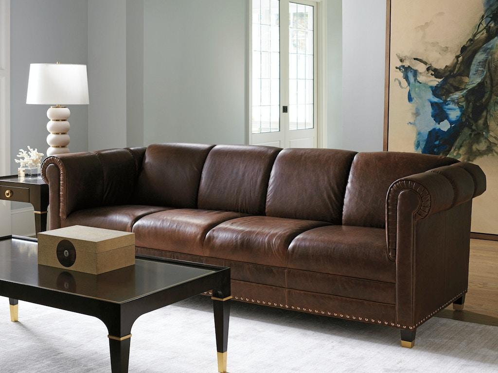 Lexington Living Room Springfield Leather Sofa Ll7543 33