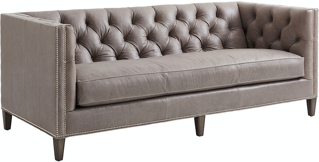 Surprising Lexington Living Room Monaco Leather Sofa Ll7567 33 Creativecarmelina Interior Chair Design Creativecarmelinacom