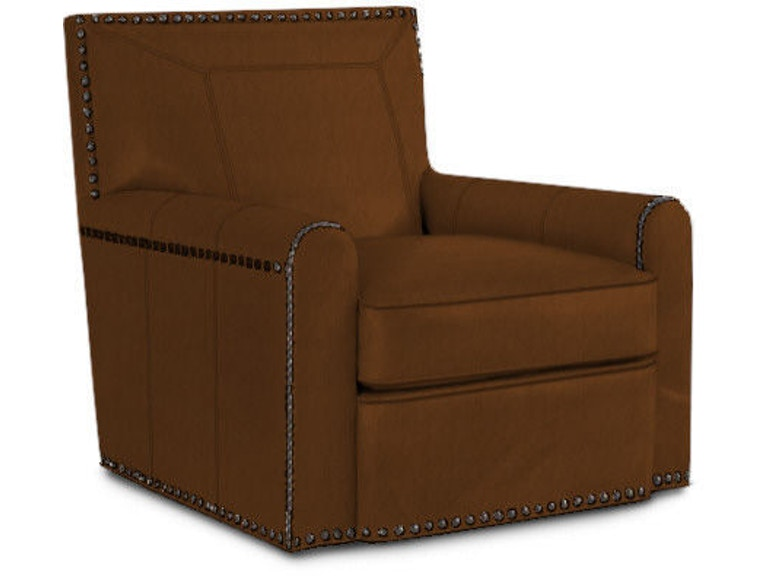 Lexington Stirling Park Leather Swivel Chair LL7576-11SW