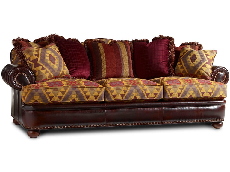 Lexington Jackson Leather Sofa Lxll758433 From Walter E Smithe Furniture Design