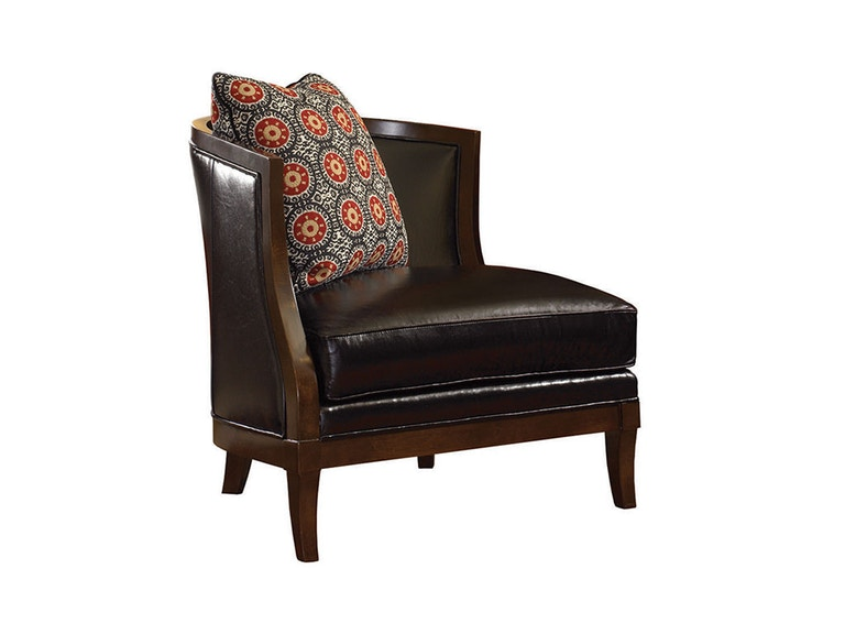Lexington Garland Leather Left Arm Facing Chair LL7640-11L
