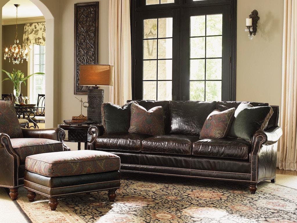 Lexington Living Room Sedona Leather Sofa LL7722-33 ...