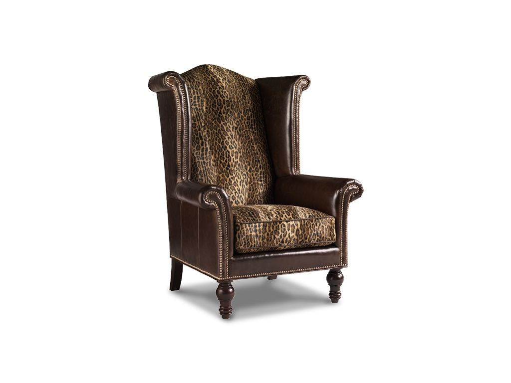 Lexington Kings Row Tight Back Leather Wing Chair LL7760 11