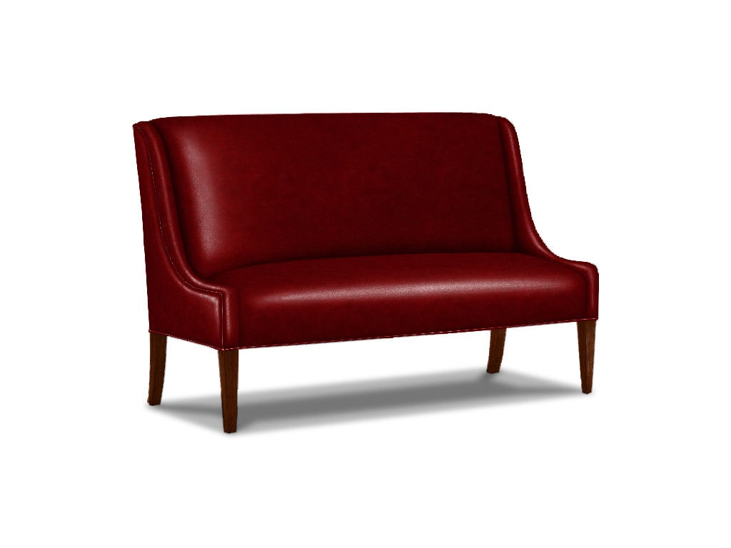 Lexington Mode Leather Dining Banquette LL7915 21