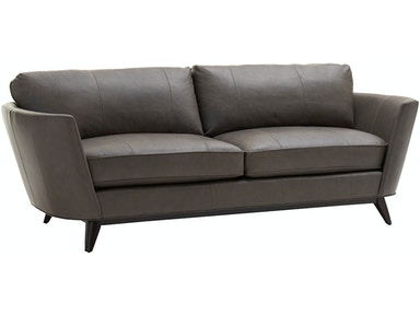 Lexington Living Room Kahn Leather Sofa