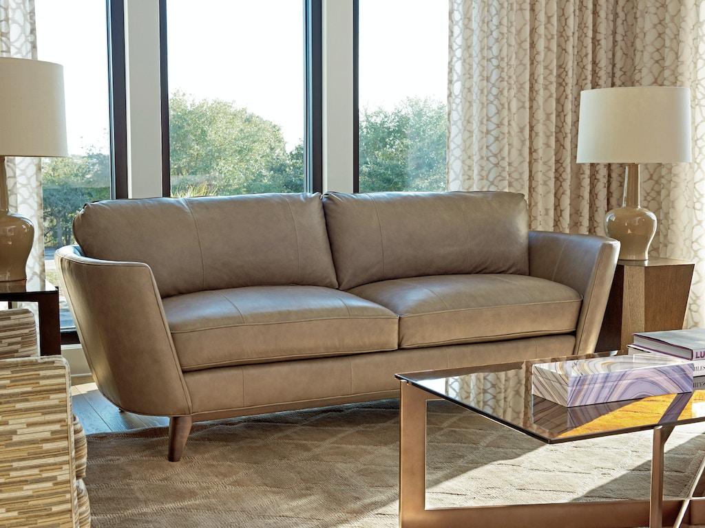 Lexington Living Room Kahn Leather Sofa Ll7928 33