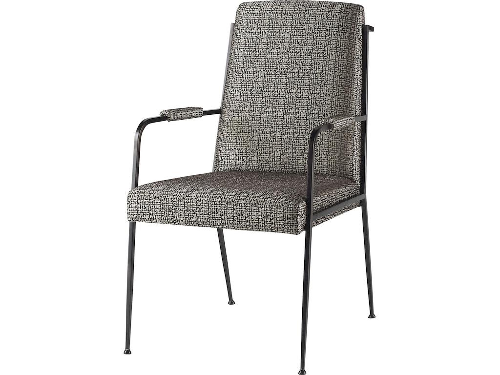Iron eye arm chair bkr