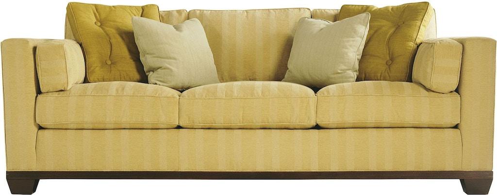 Baker Living Room Reeded Base Sofa 826 90 Studio 882