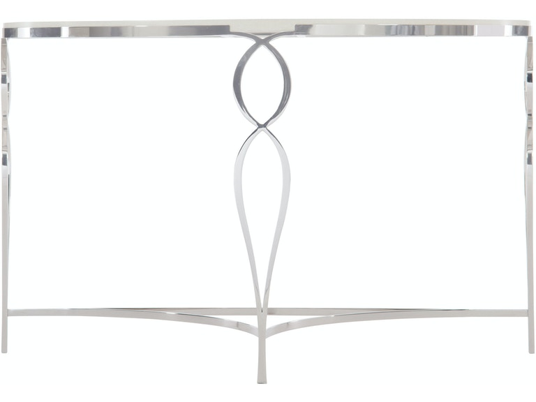 Groovy Bernhardt Living Room Metal Demilune Console Table 388 910 Gmtry Best Dining Table And Chair Ideas Images Gmtryco