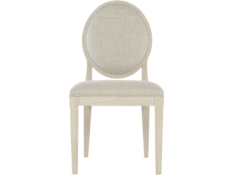 Bernhardt Dining Room Oval Back Side Chair 395 561 Carol House Furniture Maryland Heights
