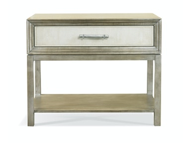 Hickory White Greg Single Drawer Side Table 107SNB