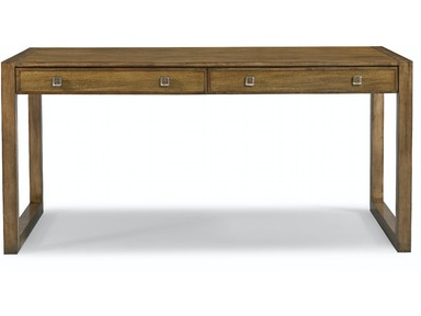 Hickory White Keen Desk - Wood Option