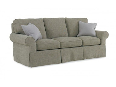 Hickory White Oxford Sofa 124BW05D