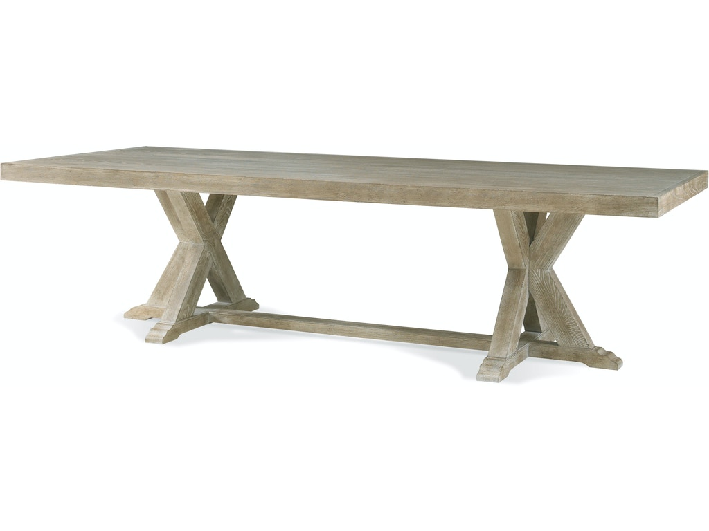 Hickory white dining room rectangular dining table 150 12 for Dining room tables milwaukee