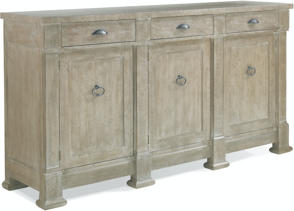 Hickory White Dining Room Buffet Credenza 150 21 Cherry