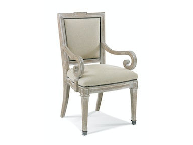 Hickory White Arm Chair 151-63