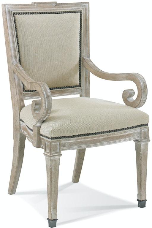 Century Furniture Dining Room Deer Creek Side Chair 3439S ...