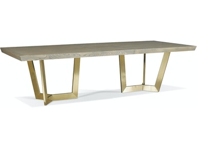Hickory White Cole Dining Table 210-12