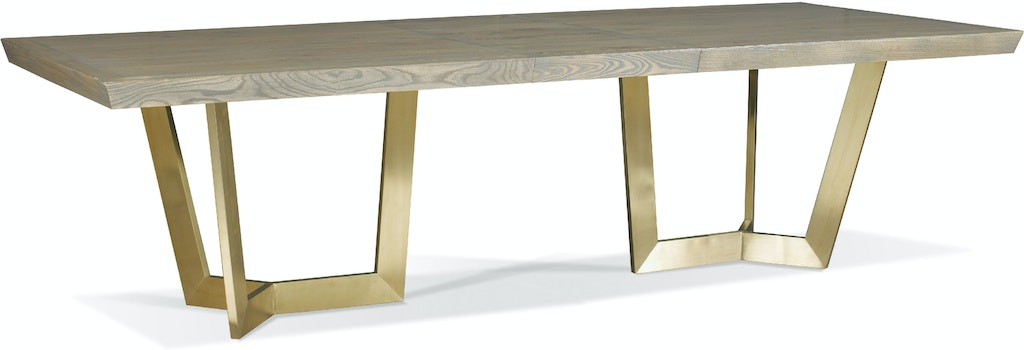 Hickory White Dining Room Cole Dining Table 210 12
