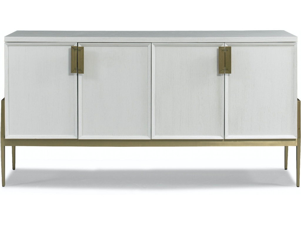 hickory white dining room colza sideboard 210 22 gorman 39 s metro detroit and grand rapids mi. Black Bedroom Furniture Sets. Home Design Ideas