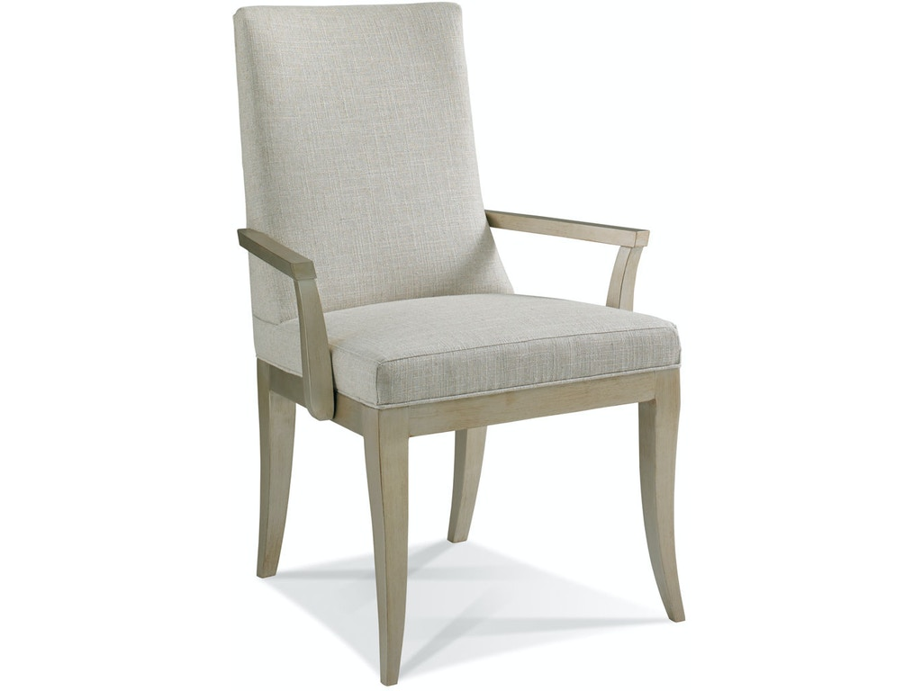 Hickory white dining room arm chair 321 61 noel for Furniture 321