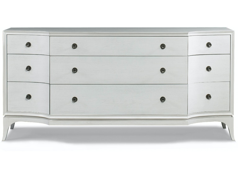 Hickory White Bedroom Lorena Dresser 395 31 Cherry House Furniture