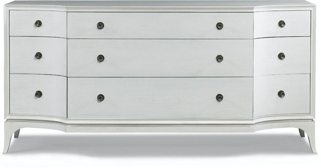 Hickory White Bedroom Lorena Dresser 395-31 - Louis Shanks ...