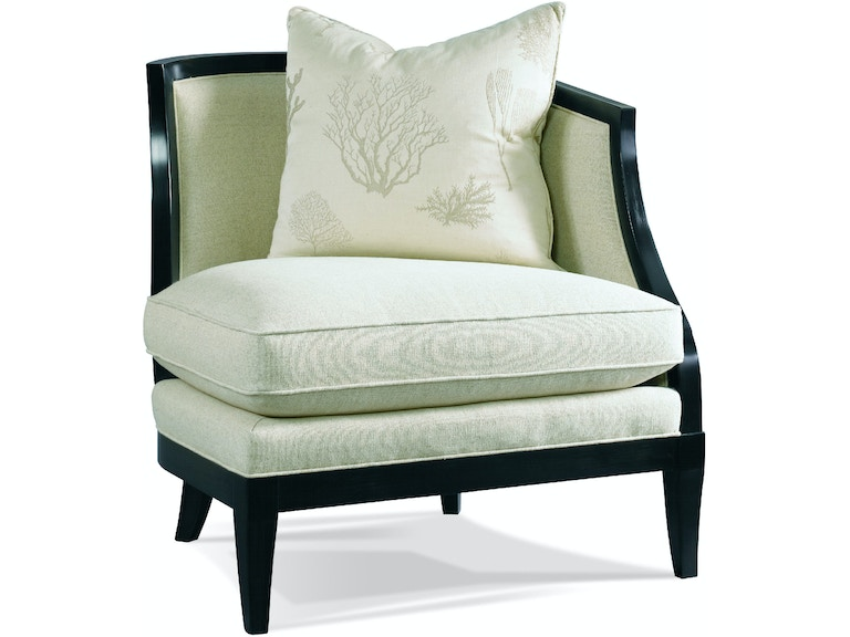 Hickory White Living Room Right Arm Facing Chair 4200 12 Stowers
