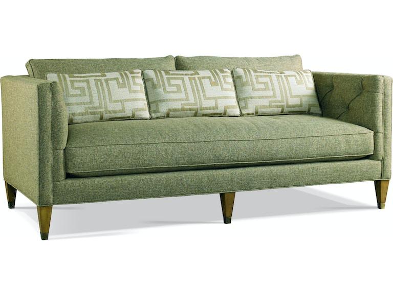 Astounding Hickory White Living Room Sofa 4207 05 Louis Shanks Machost Co Dining Chair Design Ideas Machostcouk