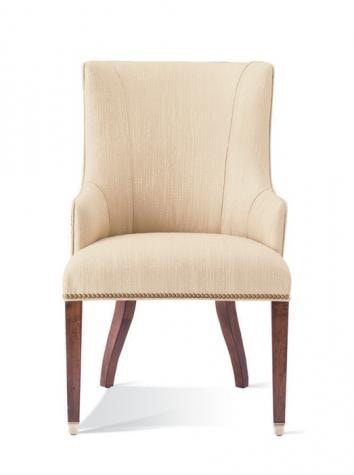 421 65. Upholstered Arm Chair