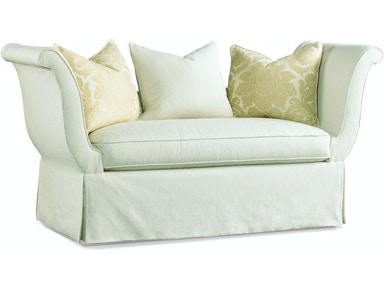 Hickory White Settee 4284-07