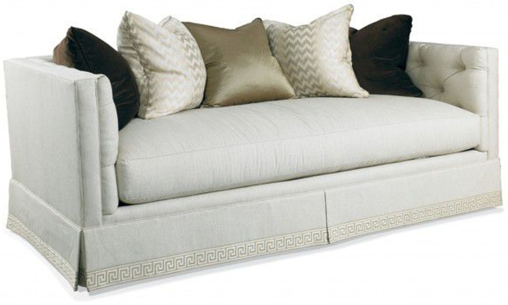 Strange Hickory White Sofa 4423 05 James Antony Home Machost Co Dining Chair Design Ideas Machostcouk