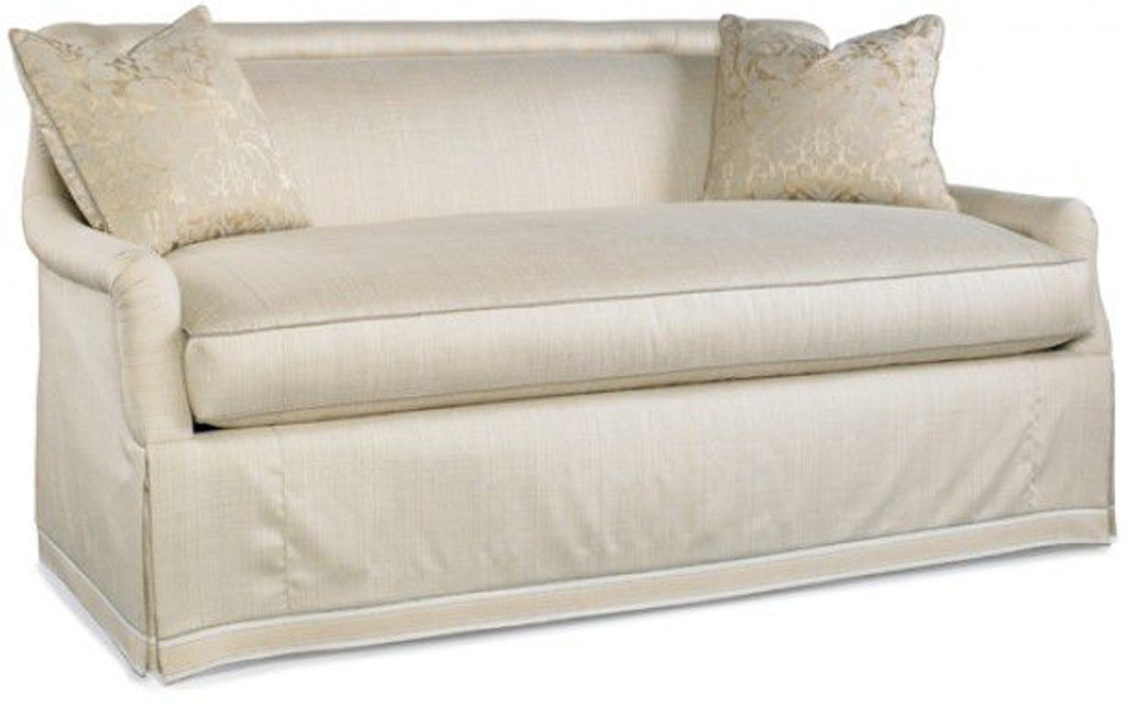 Hickory White Furniture 4480 04 Living Room Mid Sofa Upholstery