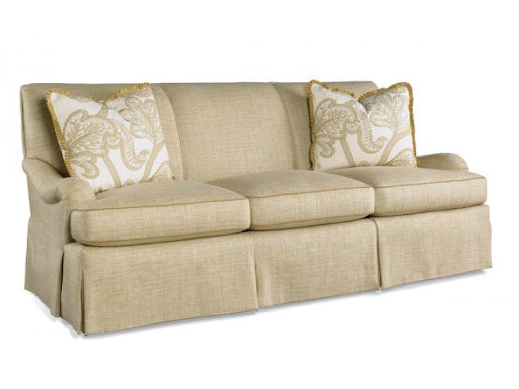 Hickory white living room sofa 4605 05 alyson jon for White sectional sofa houston